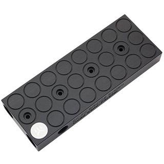EK Water Blocks Quad SLI/Crossfire Brücke für EK-VGA Kühler für 2 Slot Abstand (3831109856734)
