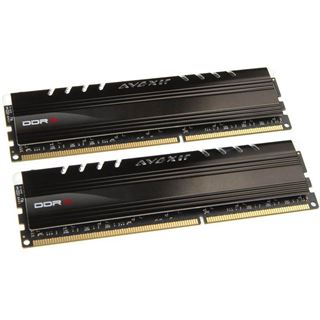 8GB Avexir Core Series blaue LED DDR3-1866 DIMM CL9 Dual Kit