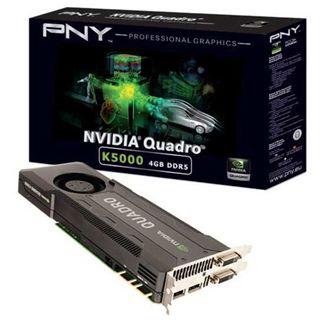 4GB PNY Quadro K5000 Aktiv PCIe 3.0 x16 (Retail)