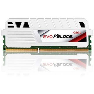 32GB GeIL EVO Veloce Frost White DDR3-2400 DIMM CL11 Quad Kit