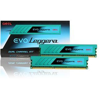 16GB GeIL EVO Leggera DDR3-1600 DIMM CL10 Dual Kit