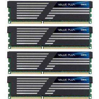 8GB GeIL Value Plus DDR3-1333 DIMM CL9 Quad Kit