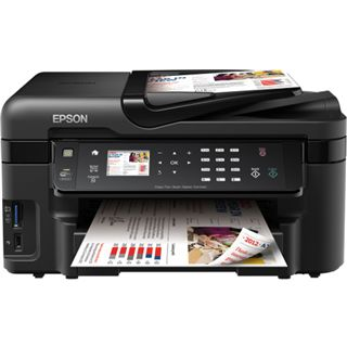 Epson WorkForce WF-3520 DWF Tinte Drucken/Scannen/Kopieren/Faxen LAN/USB 2.0/WLAN