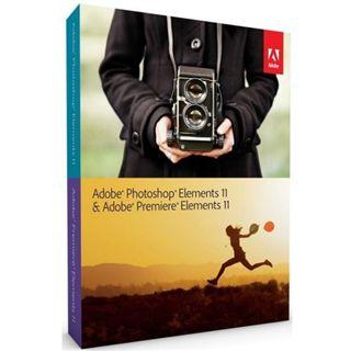 Adobe Photoshop Elements 11.0 und Premiere Elements 11.0 32/64 Bit Englisch Grafik EDU-Lizenz PC/Mac (DVD)