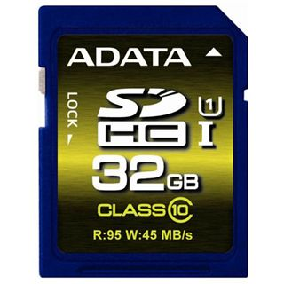 32 GB ADATA Premier Pro UHS-I U1 SDHC Class 10 Retail