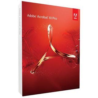Adobe Acrobat Pro 11 32/64 Bit Deutsch Office FPP PC (DVD)