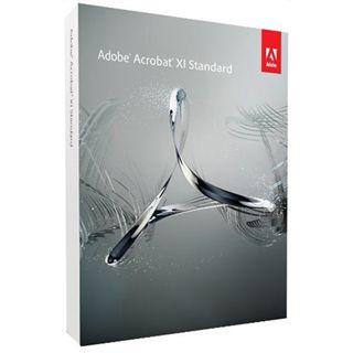 Adobe Acrobat Standard 11 32/64 Bit Deutsch Office Vollversion PC (DVD)