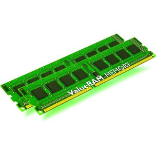 32GB Kingston ValueRAM Intel DDR3-1600 regECC DIMM CL9 Dual Kit