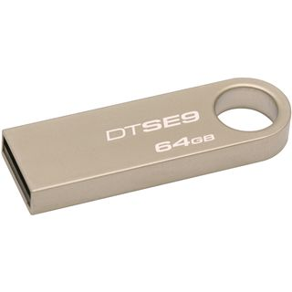 64 GB Kingston DataTraveler SE9 zink metallic USB 2.0