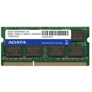 8GB ADATA Premier-Serie DDR3-1600 SO-DIMM CL11 Single