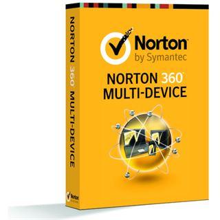 Symantec Norton 360 Multi-Device 2013 32/64 Bit Deutsch Internet Security Lizenz 1-Jahr PC (CD)