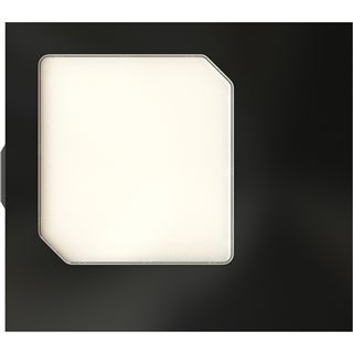 Fractal Design schwarzes Seitenteil mit Fenster für Fractal Define R4, Arc (FD-AC-WND-DEF4-ARC-BL)