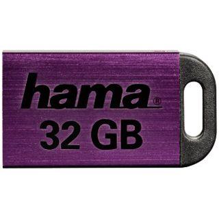 32 GB Hama FlashPen Pietas schwarz/lila USB 2.0