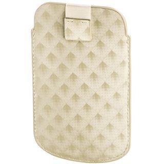 Hama MP3-Tasche Plaid für iPod touch 5G, Weiß