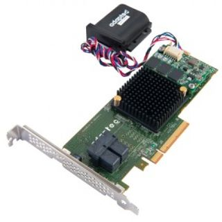 Adaptec RAID 7805Q 2 Port Multi-lane PCIe 3.0 x8 Low Profile bulk