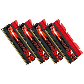 16GB G.Skill TridentX DDR3-2666 DIMM CL10 Quad Kit