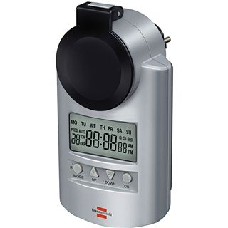 Brennenstuhl digitale Wochenzeitschaltuhr DT IP44,