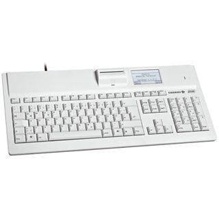 CHERRY G87-1504LAZDE-10 eHealth Tastatur Graphitgrau Deutsch USB Bulk