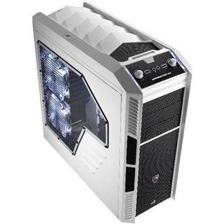 AeroCool XPredator X3 Midi Tower ohne Netzteil weiss/schwarz