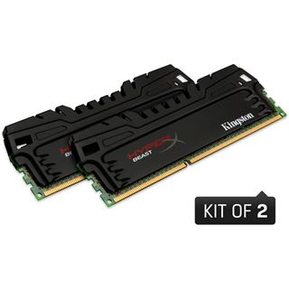 16GB Kingston HyperX Beast DDR3-1866 DIMM CL9 Quad Kit