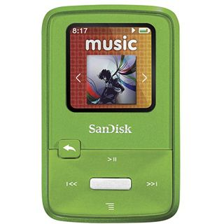 4GB Sandisk Sansa Clip Zip Lime retail