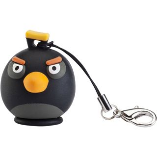 8 GB EMTEC Angry Birds Black Bird Figur USB 2.0