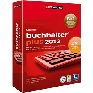 Lexware Buchalter Plus 2013 32/64 Bit Deutsch Office Upgrade PC (CD)