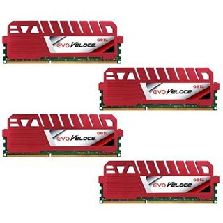 32GB GeIL EVO Veloce DDR3-2133 DIMM CL11 Quad Kit