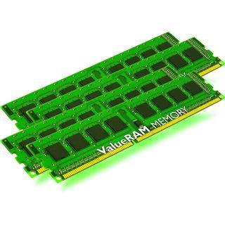 32GB Kingston ValueRAM DDR3-1600 regECC DIMM CL11 Quad Kit