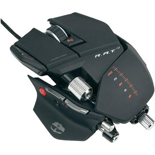 Mad Catz Cyborg R.A.T 7 Gaming Mouse USB matt black (kabelgebunden)