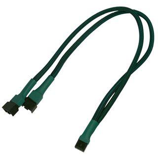 Nanoxia 30 cm grünes Y-Kabel für 4-Pin PWM (NXPWY30G)