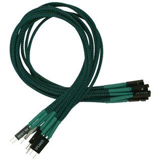 Nanoxia 30 cm grünes einzelsleeve Verlängerungskabel für Frontpanel (NXFPV3EG)