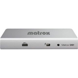 Matrox DS1 Thunderbolt Docking Station für Macbook / Macbooks Pro (DS-1 DVI)