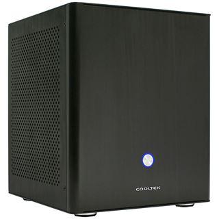 Cooltek Coolcube ITX Tower ohne Netzteil schwarz