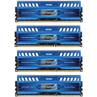 32GB Patriot Intel Extreme Masters Series DDR3-1866 DIMM CL10 Quad Kit