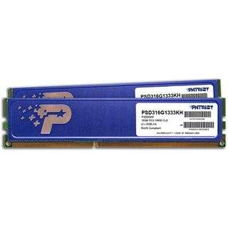 16GB Patriot Signature Line HS DDR3-1333 DIMM CL9 Dual Kit