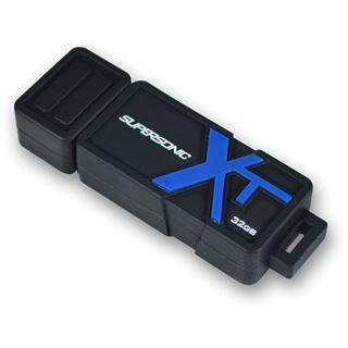 32 GB Patriot Supersonic Boost XT schwarz/blau USB 3.0