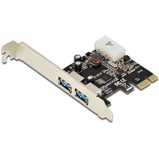 Digitus DS-30220-4 2 Port PCIe 2.0 x1 inkl. Low Profile Slotblech retail