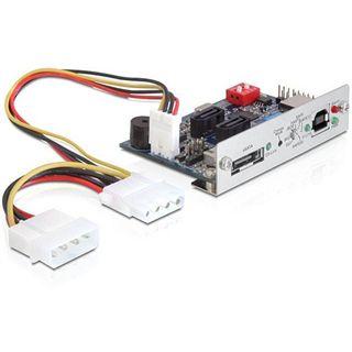"""Delock eSATA/USB 2.0 auf 2x SATA mit RAID Konverter für 2.5"""" und 3.5"""" Festplatten (61576)"""