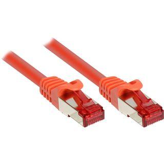 (€0,52*/1m) 25.00m Good Connections Cat. 6 Patchkabel S/FTP PiMF RJ45 Stecker auf RJ45 Stecker Orange PVC