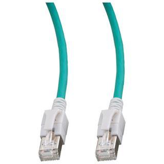 3.00m Good Connections Cat. 6a S/FTP PiMF RJ45 Stecker auf RJ45 Stecker Grün halogenfrei/mit Leuchtstecker