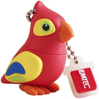 8 GB EMTEC Die Dschungel Animals Papagei Figur USB 2.0