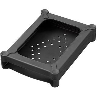 Xilence Hard Disk Silikon Protector, schwarz