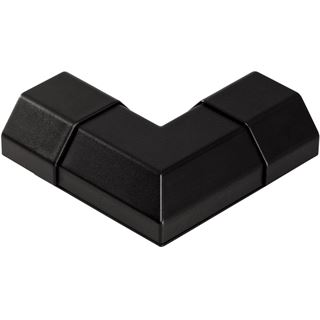 Hama L-Verbinder schwarz 50mm für Aluminium-Kabelkanal (00095893)