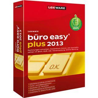 Lexware Buero Easy Plus 2013 32/64 Bit Deutsch Office FPP PC (DVD)