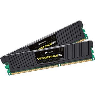 16GB Corsair Vengeance Low Profile schwarz DDR3-1866 DIMM CL10 Dual Kit
