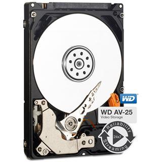 "500GB WD AV-25 WD5000LUCT 16MB 2.5"" (6.4cm) SATA 3Gb/s"