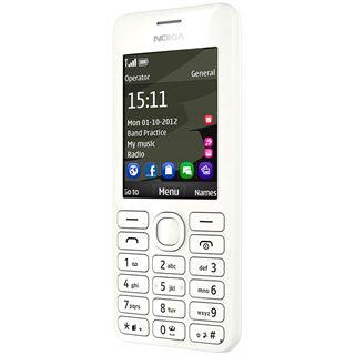 Nokia 206 weiß
