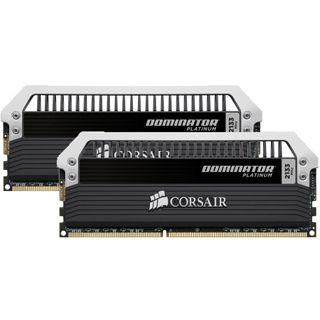 16GB Corsair Dominator Platinum DDR3-2133 DIMM CL9 Dual Kit