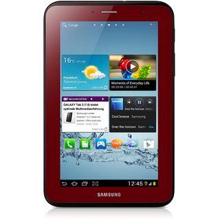 """7.0"""" (17,78cm) Samsung Galaxy Tab 2 7.0 WiFi/Bluetooth V3.0 8GB rot"""